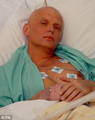Alexander Litvinenko, accused Vladimir Putin of being a paedophile after he was pictured kissing the stomach of a five-year-old boy,