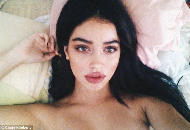 Cindy Kimberly, who rose to fame after Justin Bieber shared her photo with more 54.9m followers