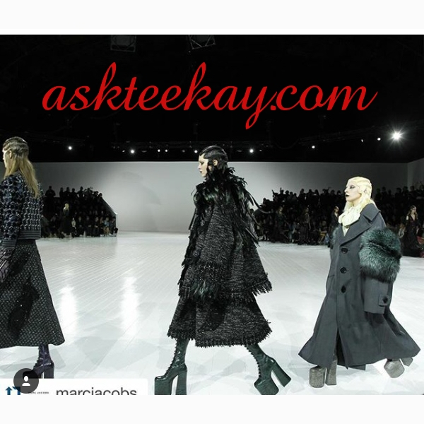 Kendall Jenner again at The New York Fashion Week for Marc Jacobs and Right behind her is Lady Gaga