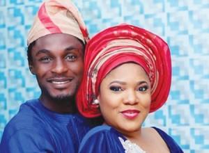 Toyin Aimakhu and Former Husband Adeniyi Johnson